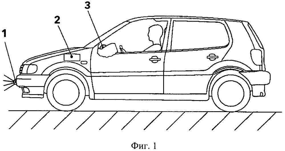 Устройство для предупреждения засыпания водителя транспортного средства во время движения