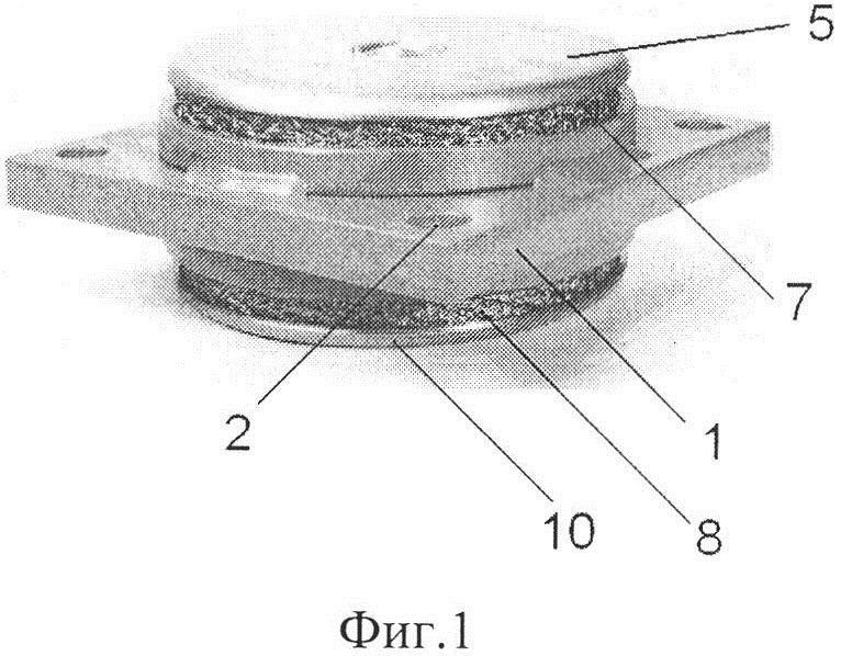 Виброизолятор симметричный сетчатый