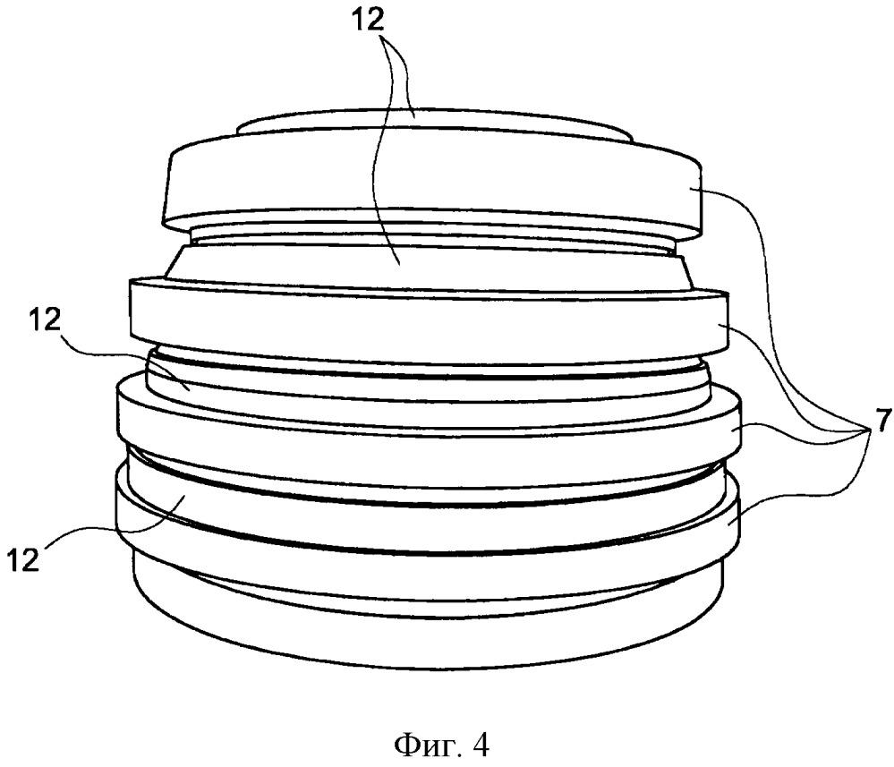 Вспомогательное устройство для сварки протянутых дисков, содержащее демпфирующий пояс, и способ фрикционной сварки