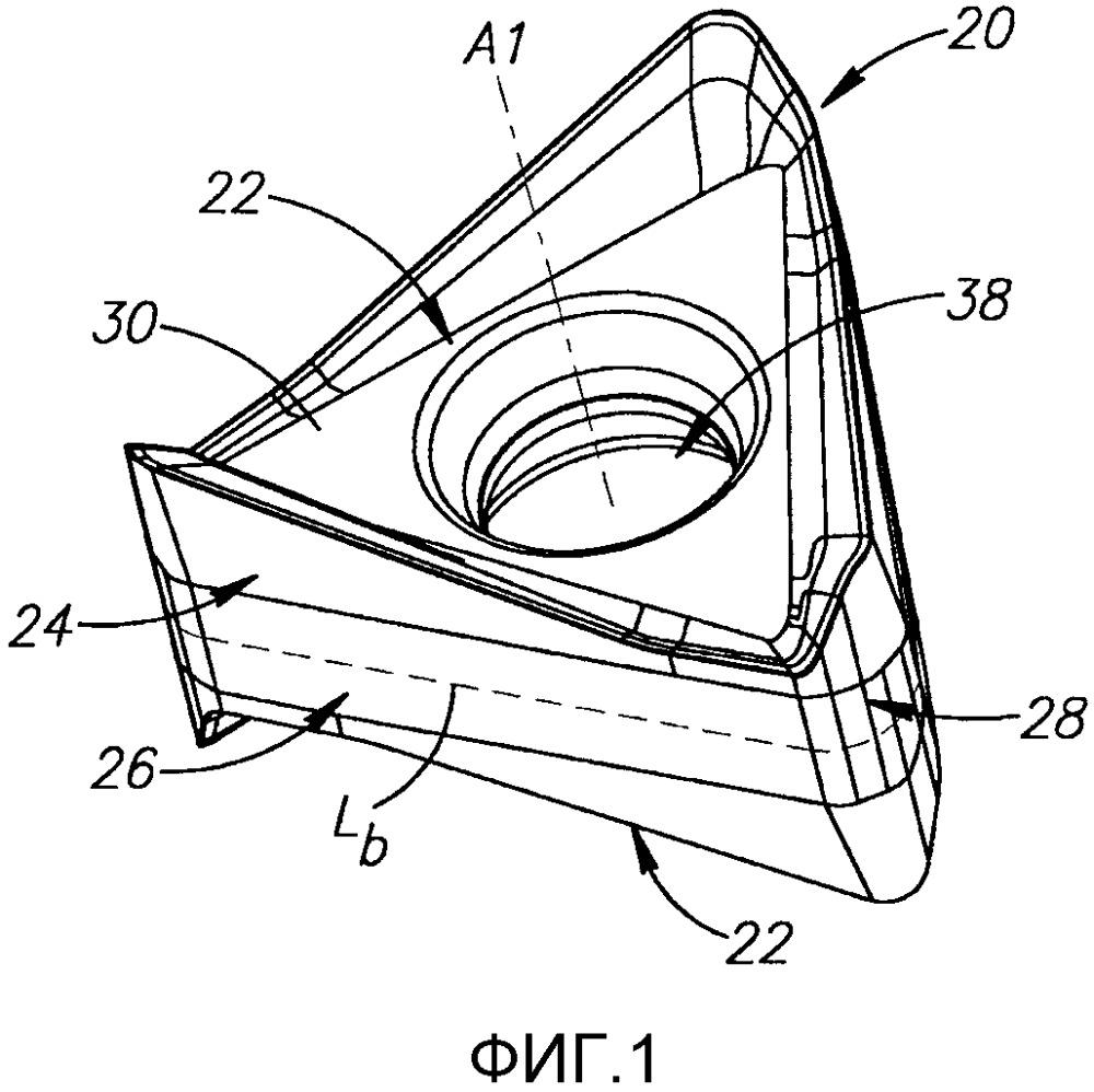 Вращающийся инструмент и его многогранная режущая пластина