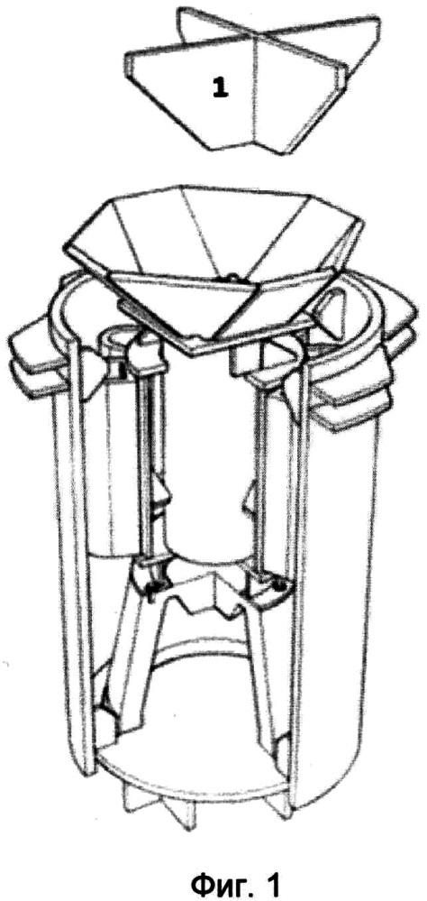 Демпфирующее устройство для соединения и установки верхнего строения морских платформ на опорное основание