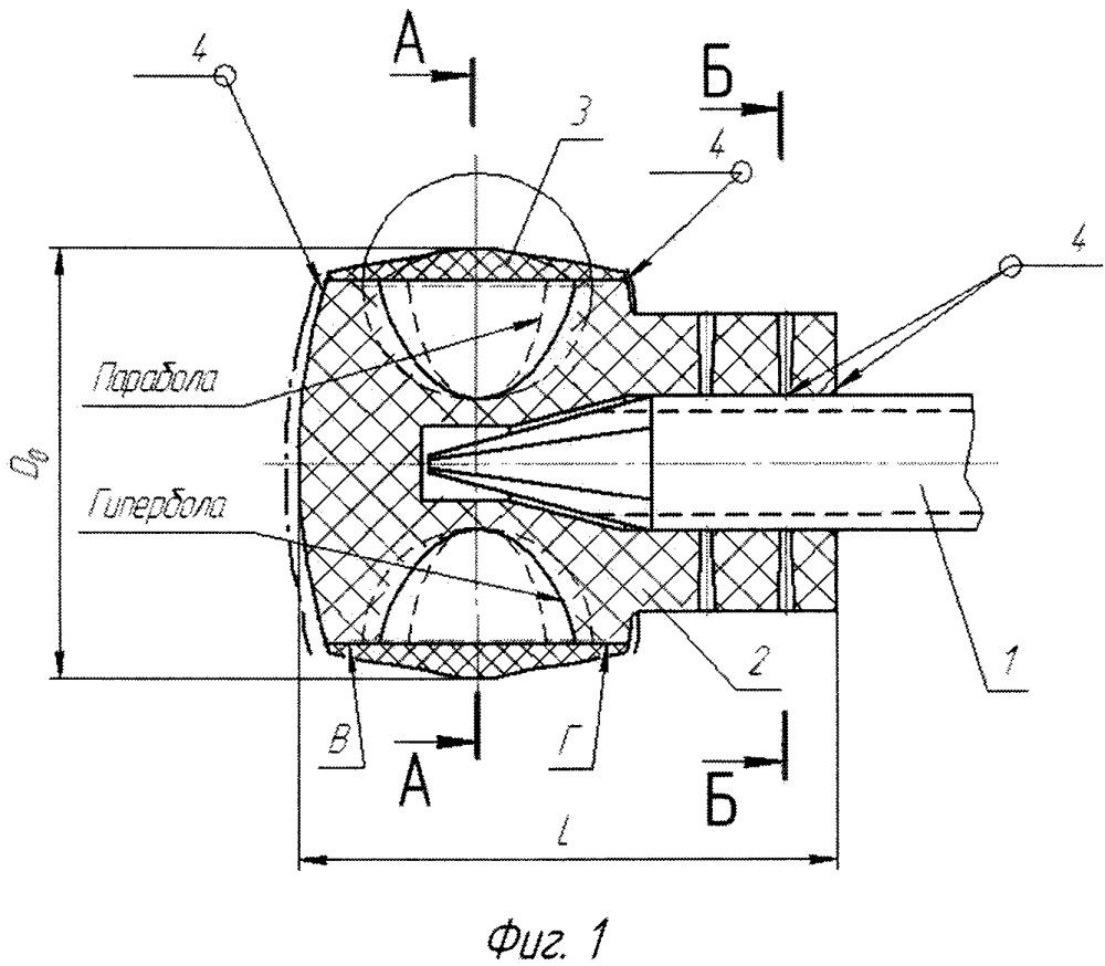 Комбинированный инструмент для эндовазальной лазерной облитерации вен