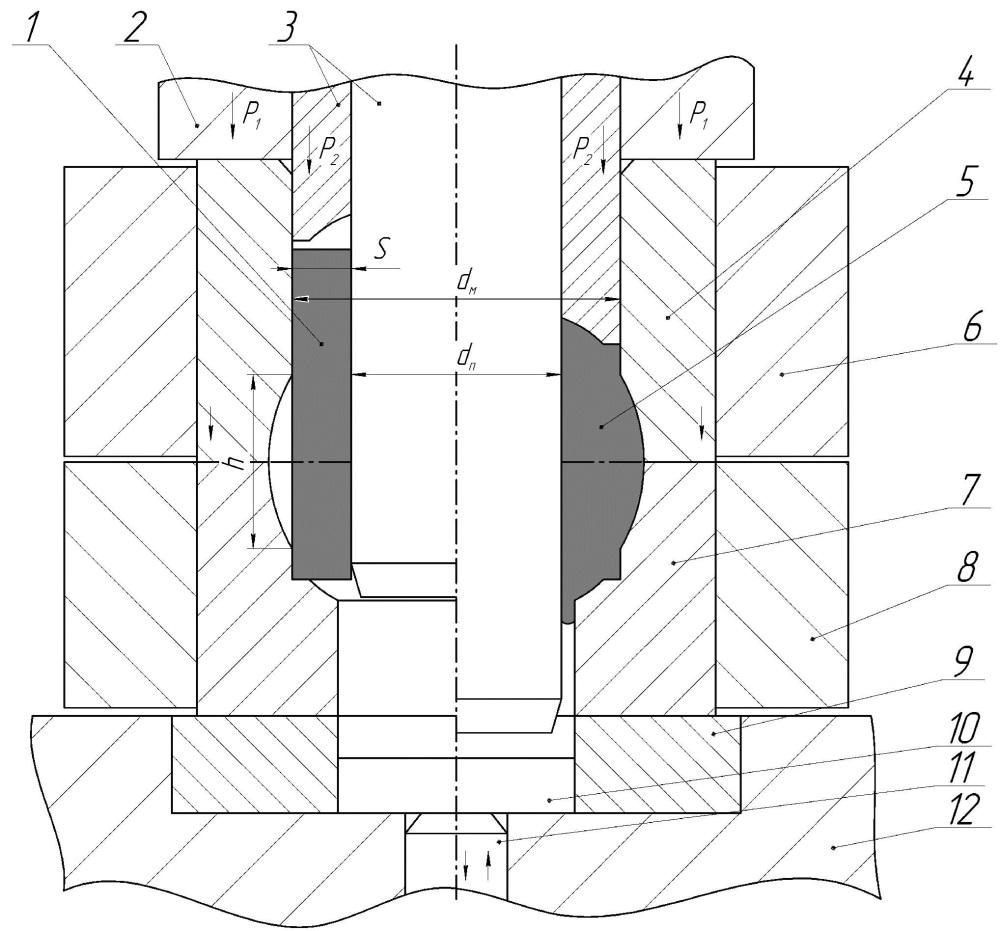 Способ и штамп для изготовления крупногабаритных пробок шаровых кранов