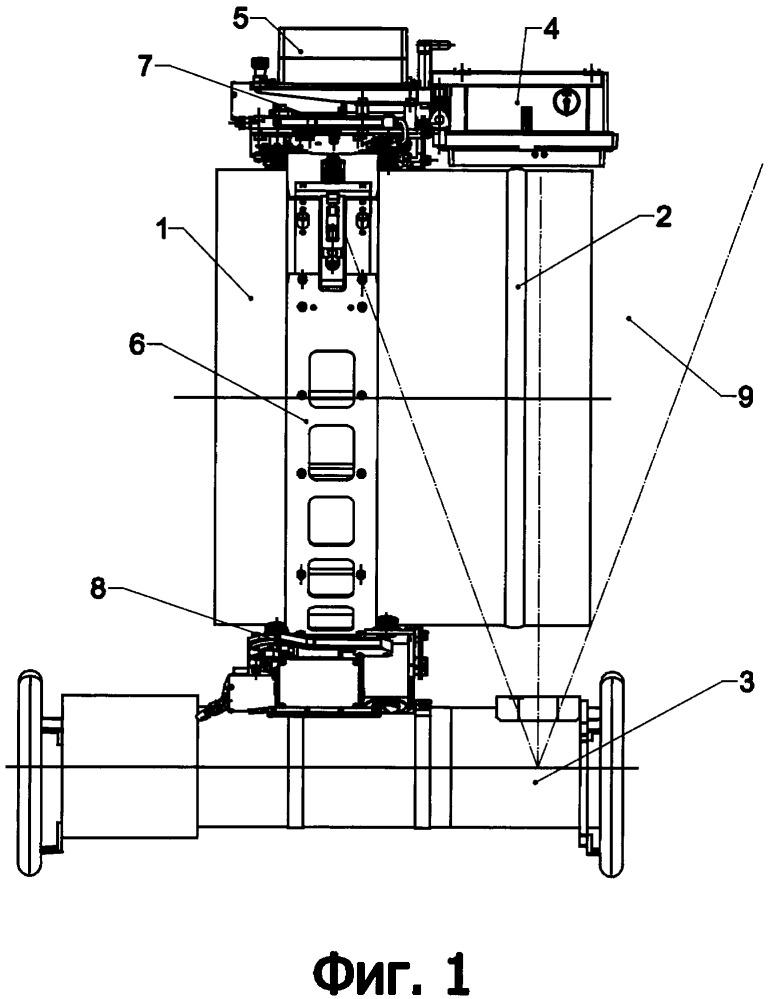 Способ радиографического контроля швов трубопровода