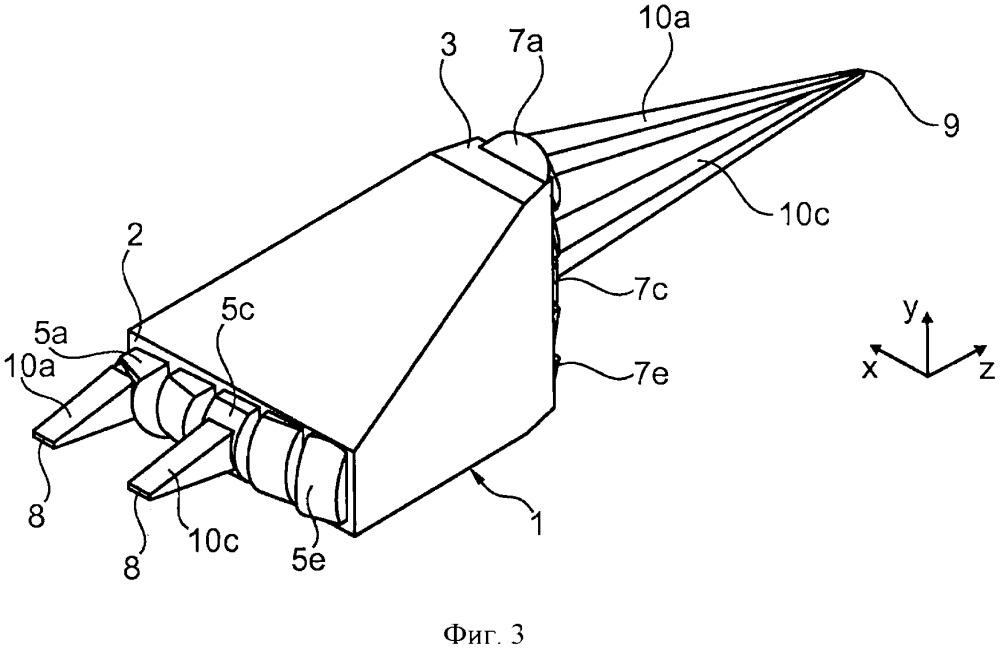 Устройство формирования лазерного излучения