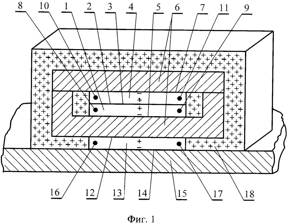 Термоэлектрический трансформатор постоянного напряжения