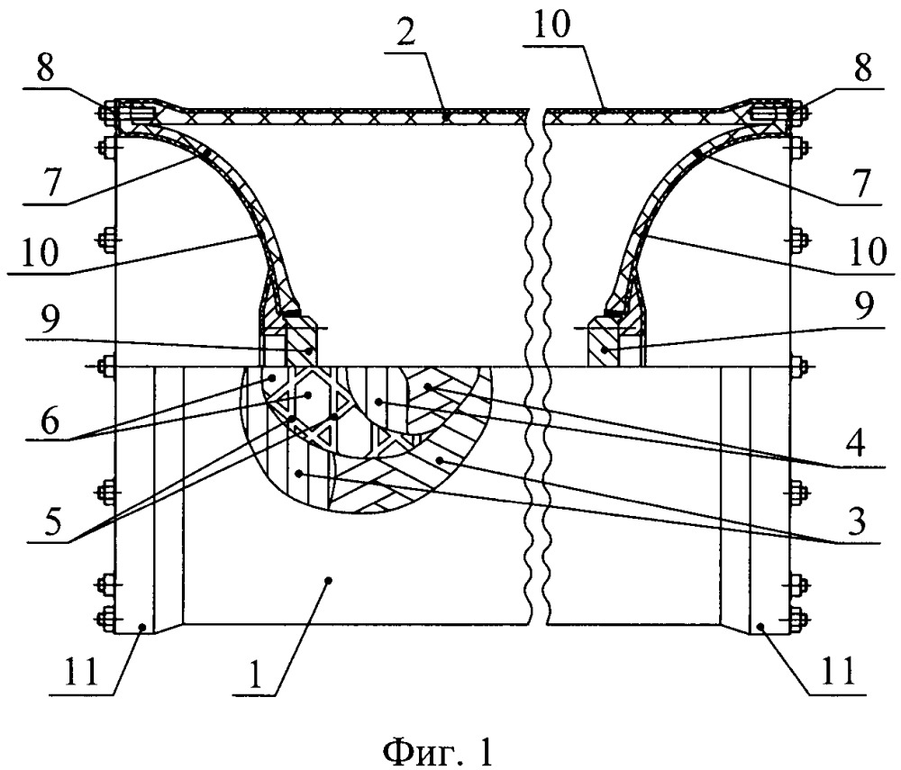 Корпус глубоководного аппарата из композиционных материалов