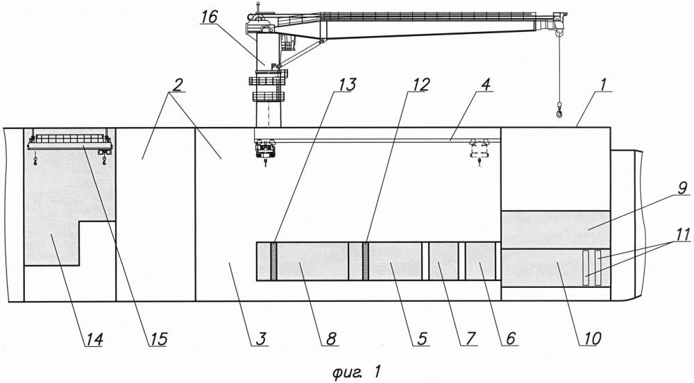 Многофункциональное судно атомно-технологического обслуживания