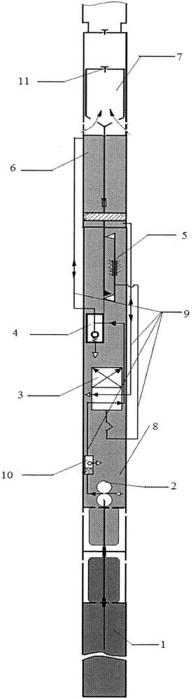 Скважинная электрогидроприводная насосная установка