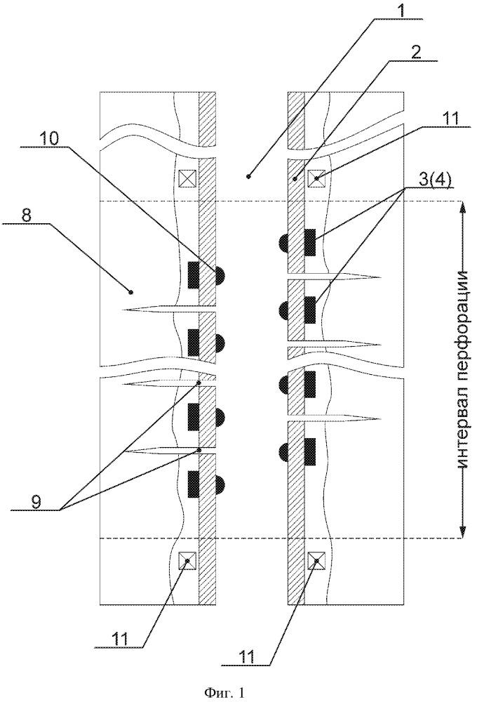 Способ определения параметров трещины гидроразрыва пласта