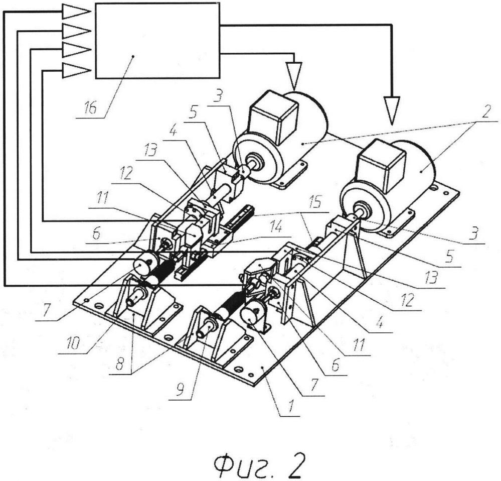 Нагружающий механизм стенда для испытаний тросового привода