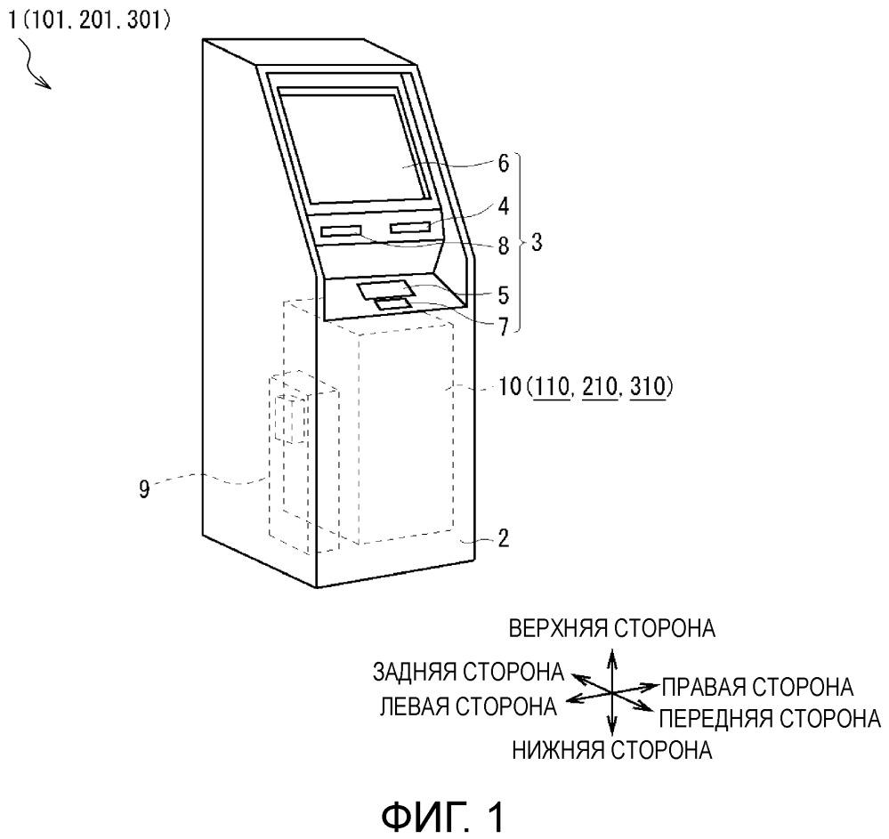 Устройство для транзакций c платежными средствами
