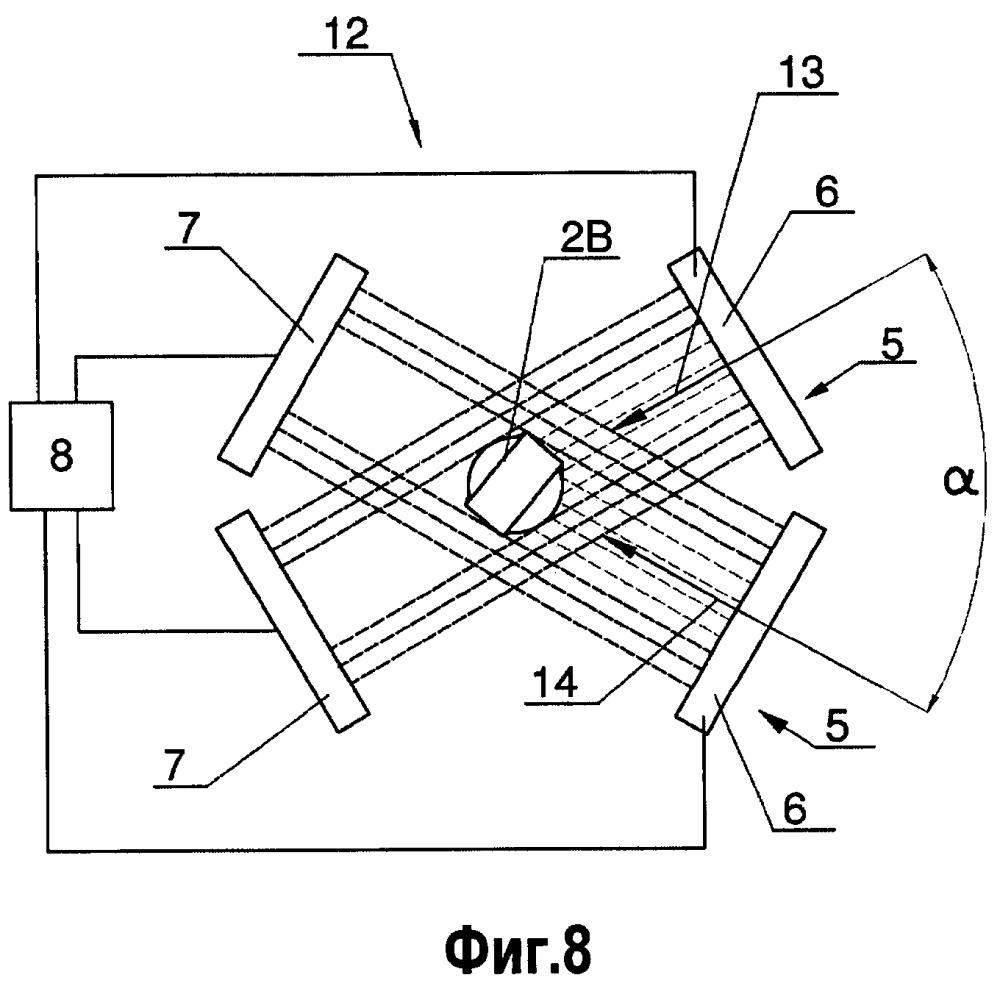 Способ и устройство для детектирования повернутых сегментов в многосегментном стержне, перемещаемом в машине, используемой в табачном производстве
