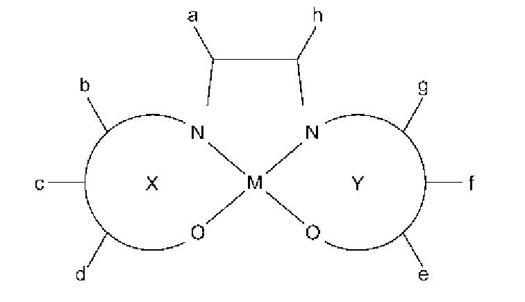 Комплексное металл-саленовое соединение, обладающее собственным магнетизмом