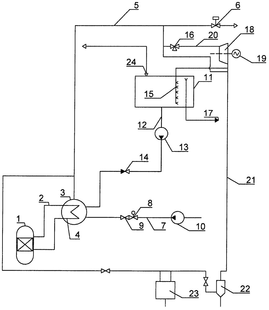Устройство аварийного охлаждения реакторной установки
