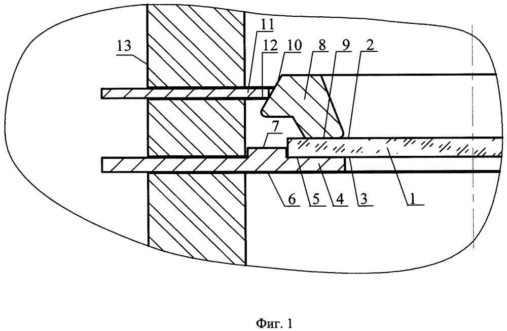 Узел крепления микроканальной пластины внутри вакуумного корпуса вакуумного фотоэлектронного прибора