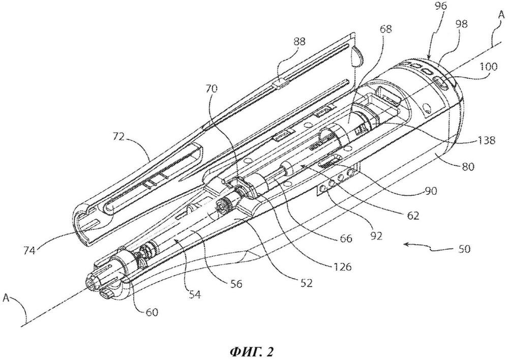 Автоматическое устройство для инъекций с инъекционным картриджем и приводной механизм такого устройства