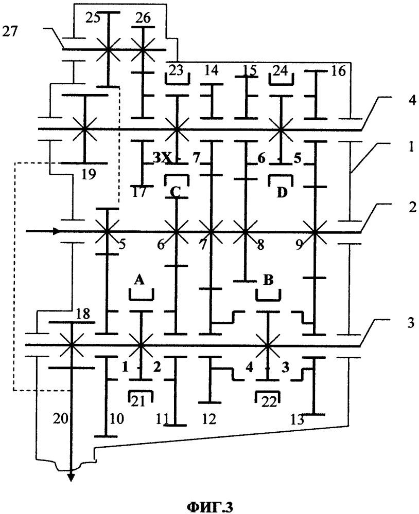 Конструкция семи-восьмиступенчатой коробки передач (варианты)