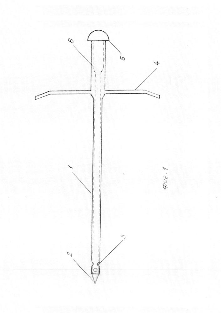 Медицинская дренажная игла троакарного типа для ультразвуковой визуализации