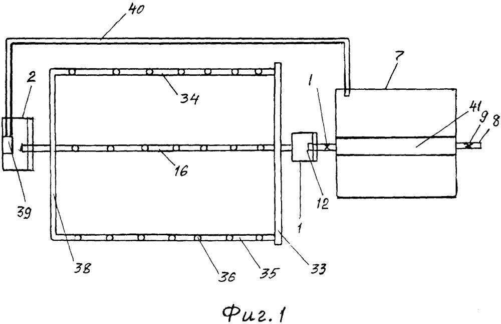 Система для орошения и обогрева теплиц