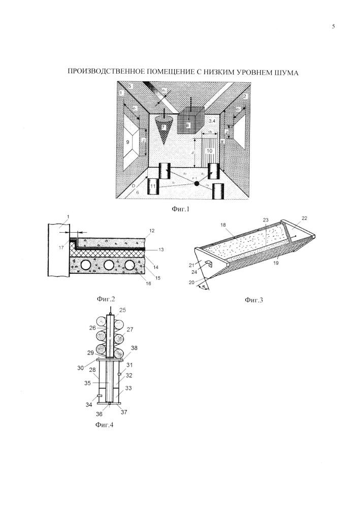 Производственное помещение с низким уровнем шума