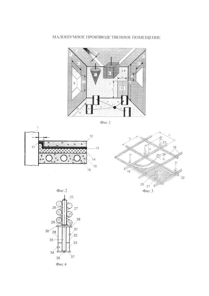 Малошумное производственное помещение