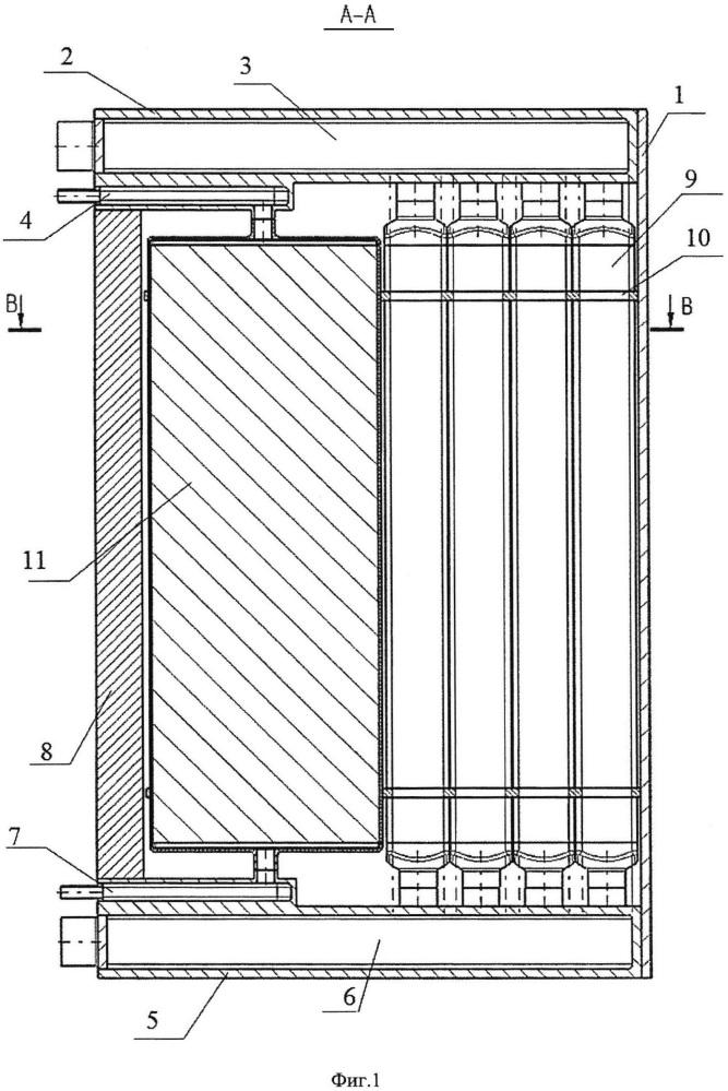 Модуль бланкета гибридного термоядерного реактора