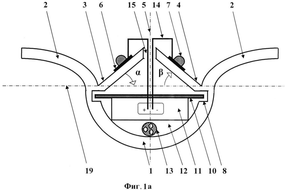 Способ создания бестеневого светового потока и модульная осветительная система для его осуществления