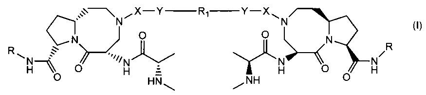 Бивалентные ингибиторы ингибиторов белков апоптоза и терапевтические способы их применения