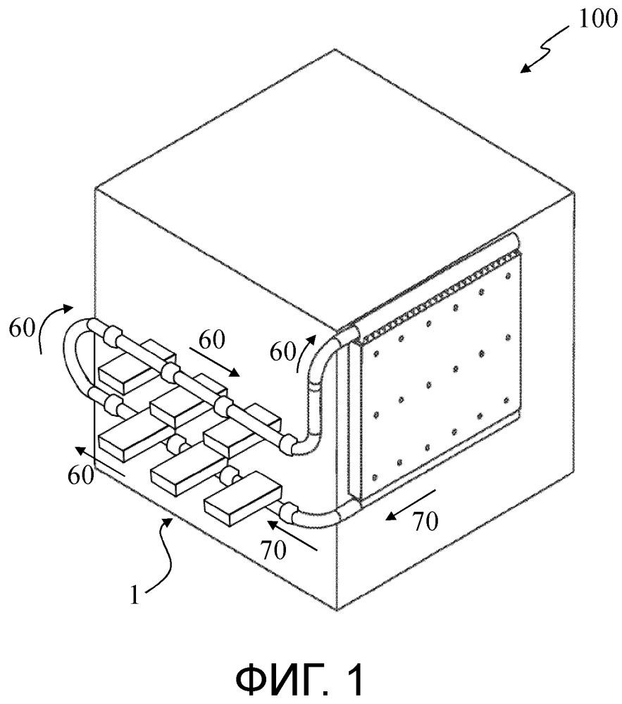 Охлаждающее устройство для электрического устройства и электрическое устройство, в частности автоматический выключатель, содержащий такое охлаждающее устройство
