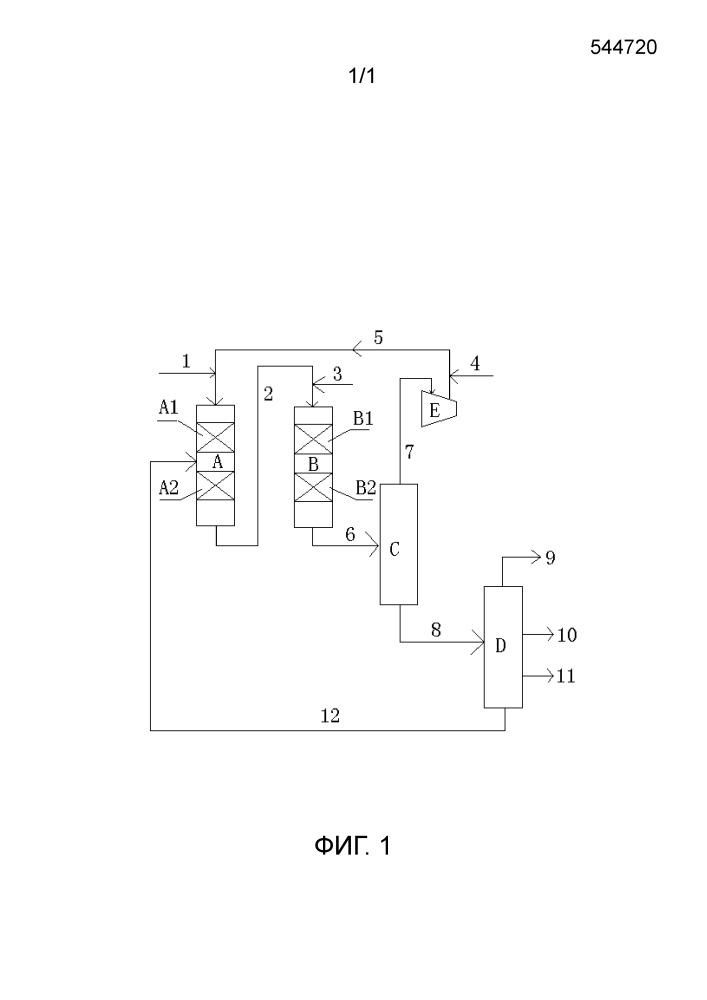 Способ гидрообработки продукта низкотемпературного синтеза фишера-тропша