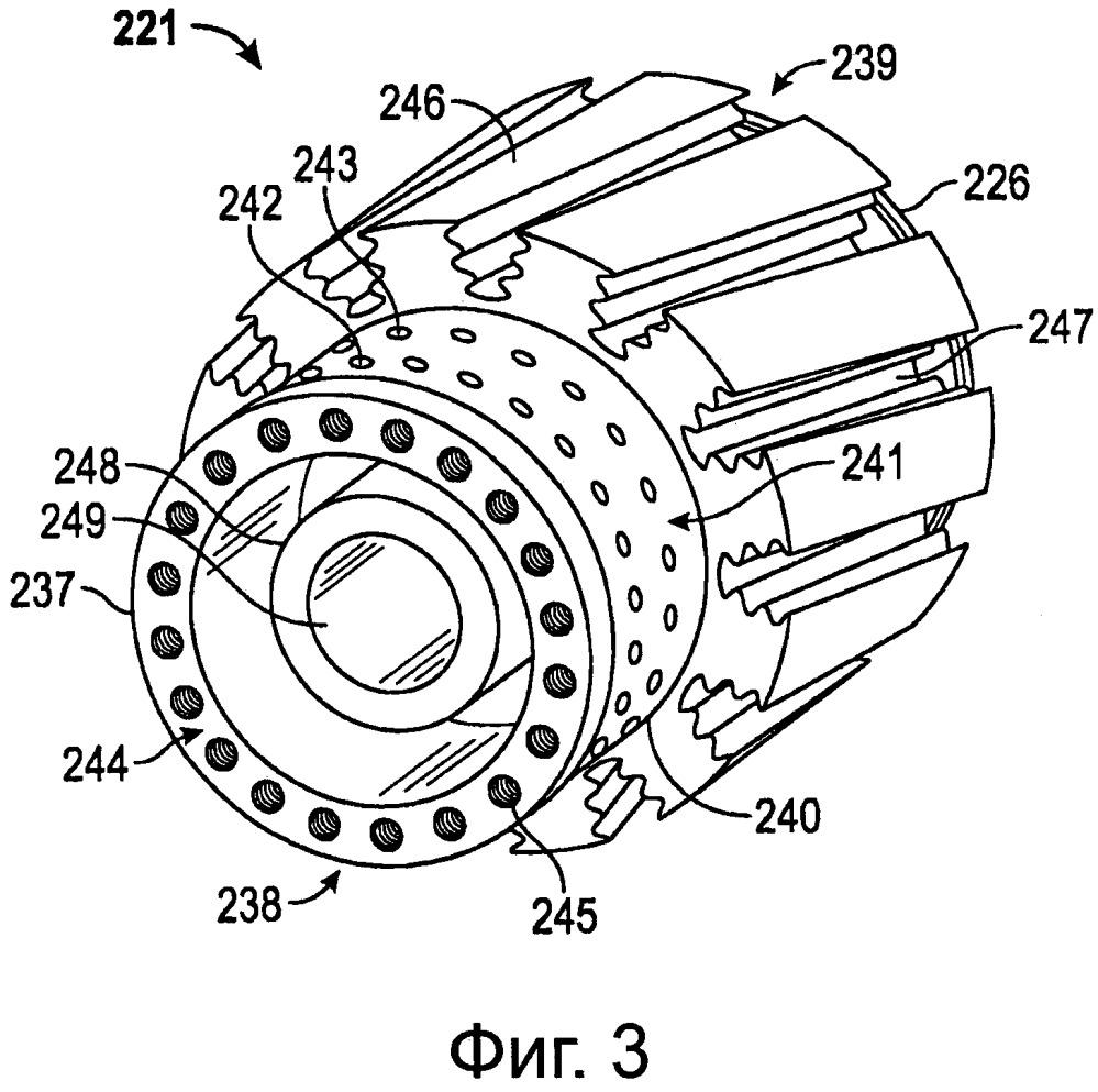 Диск первой ступени компрессора, выполненный с возможностью балансировки ротора компрессора