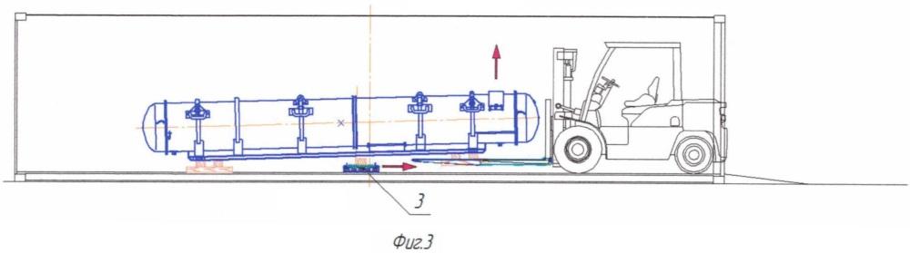 Способ загрузки-разгрузки крупногабаритных длинномерных грузов