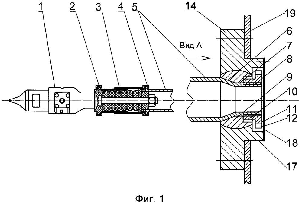 Ударно-тяговое устройство подвижного состава