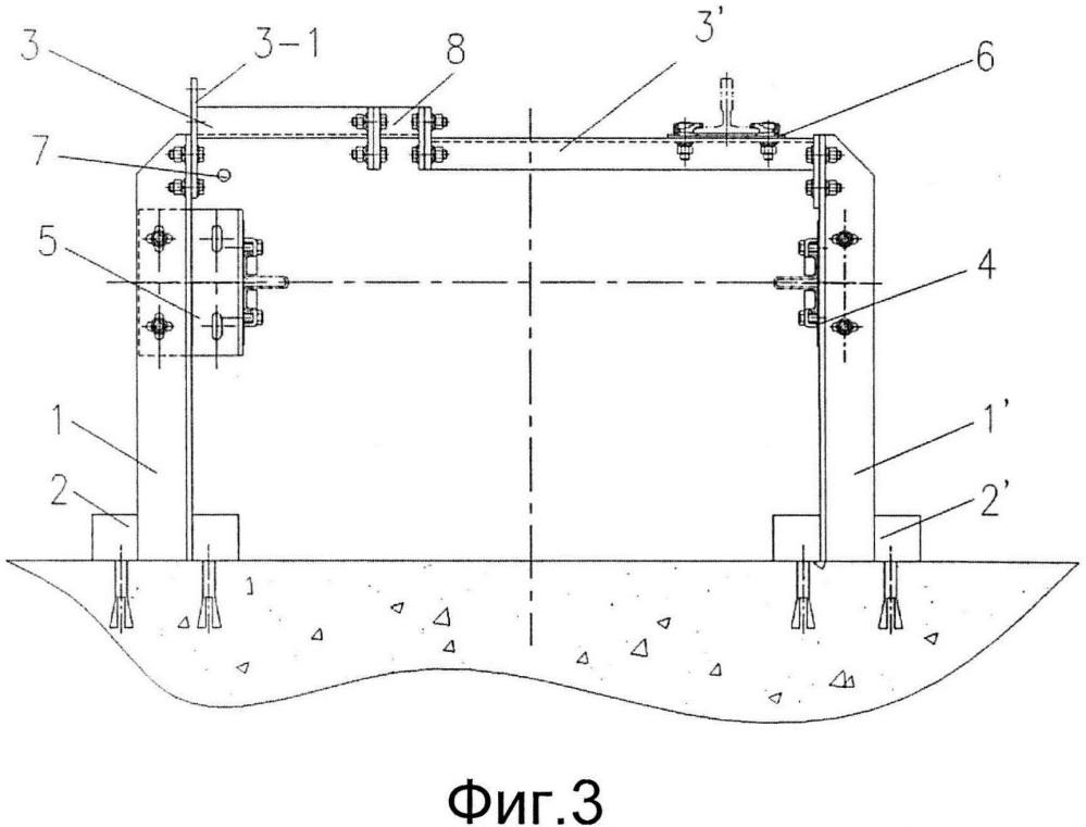 Способ монтажа кронштейна для направляющих лифта