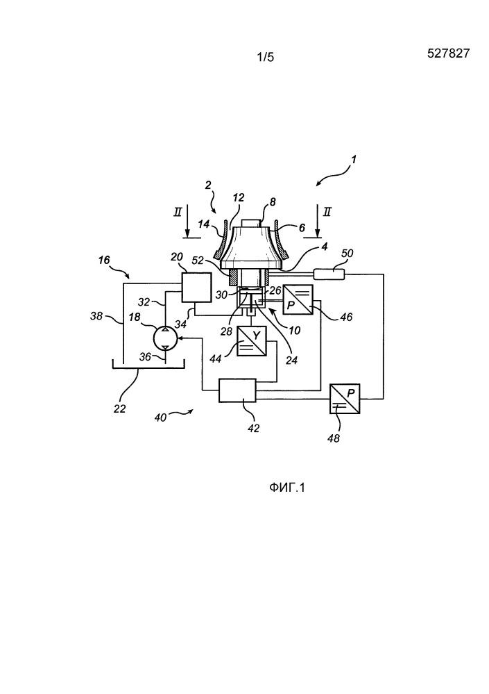 Клапан сброса гидравлического давления гирационной дробилки