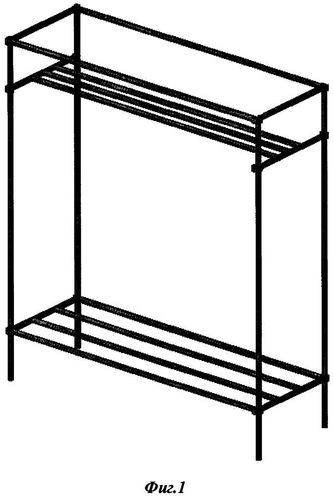 Быстроразборная конструкция шкафа