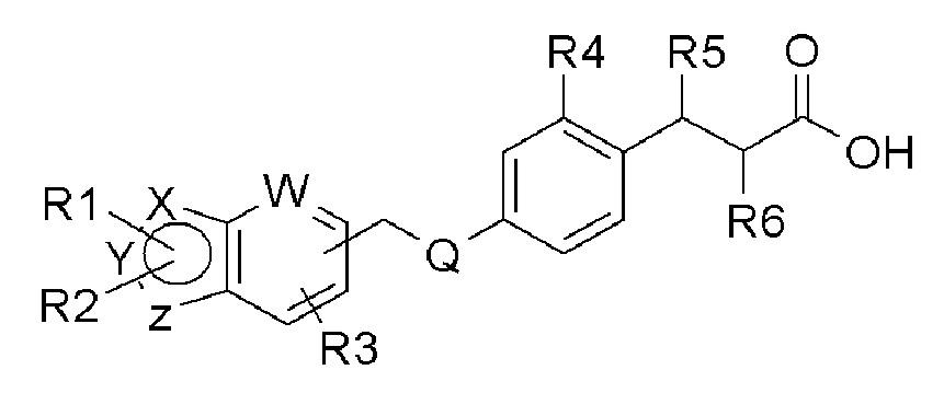 Агонист рецептора gpr40, способы его получения и фармацевтические композиции, содержащие его в качестве активного ингредиента