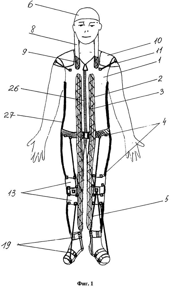 Устройство для нейро-ортопедической реабилитации