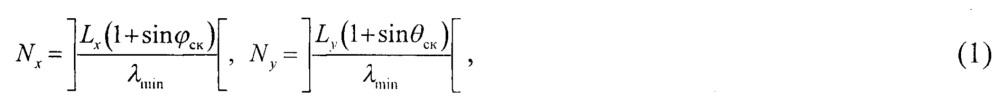 Бортовая активная фазированная антенная решетка х-диапазона с увеличенным сектором сканирования