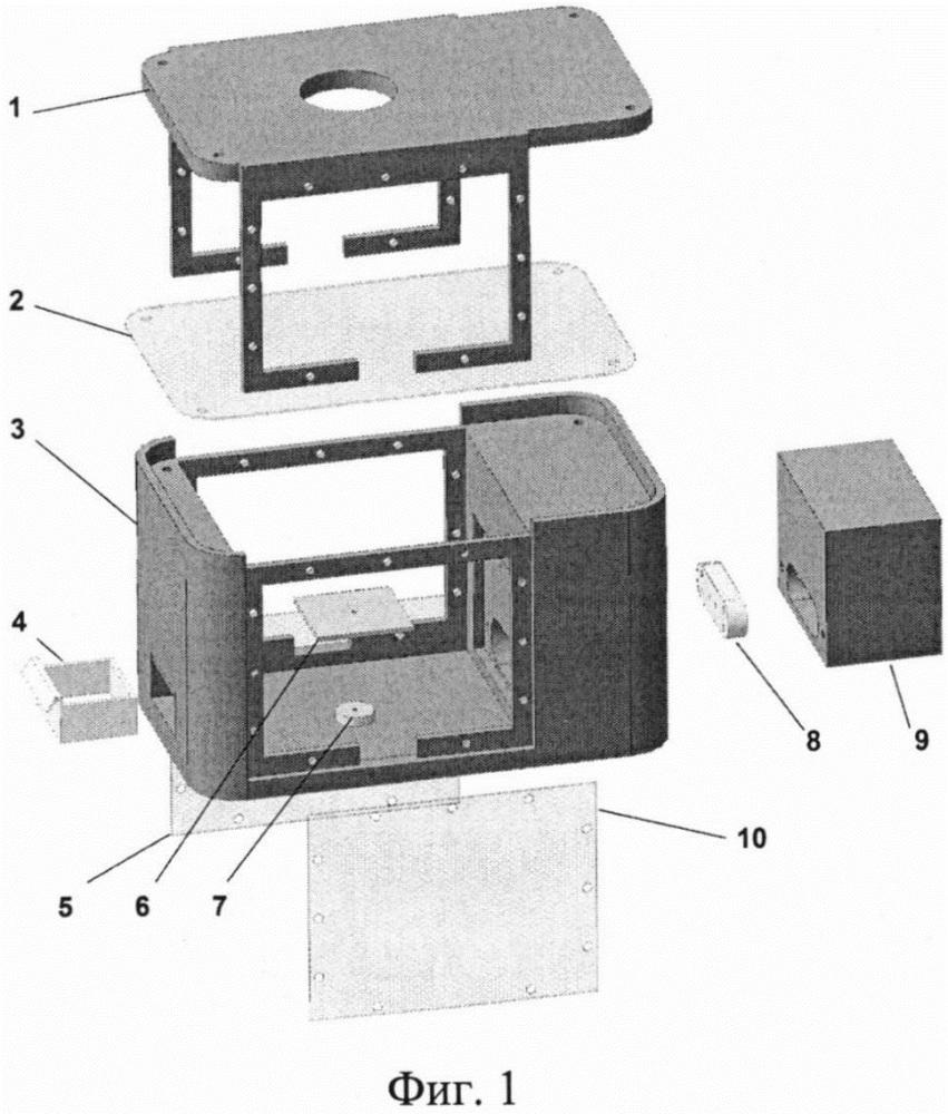Блок держателя образца, предназначенный для проведения комбинированных измерений с помощью рентгеноструктурного анализа в скользящем пучке и дополнительных физико-химических методов исследования