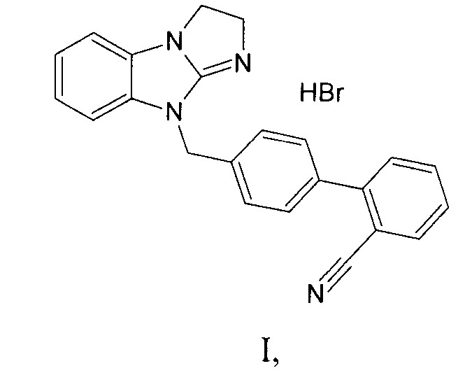 Гидробромид 4-(2,3-дигидро-9н-имидазо[1,2-а]бензимидазол-9-ил-метил)бифенил-2-карбонитрил, проявляющий свойства активатора амф-активируемой протеинкиназы (амрк)