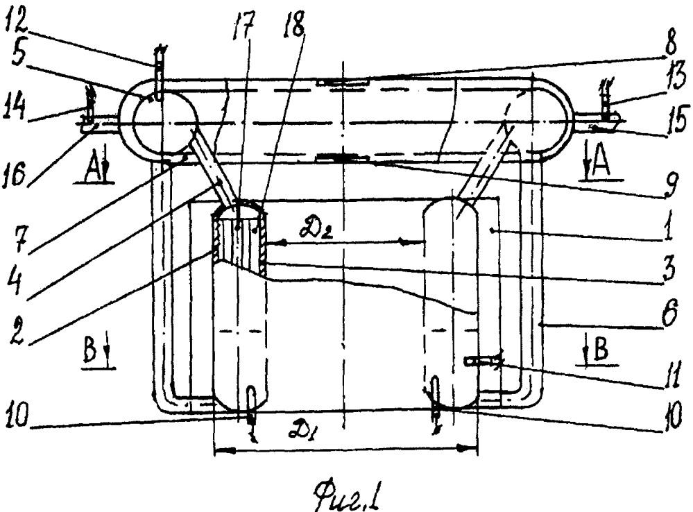 Кристаллизатор для получения непрерывных цилиндрических заготовок