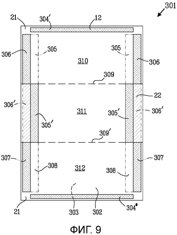 Упаковочный блок с улучшенным уплотнением и способ образования упаковочного блока с улучшенным уплотнением