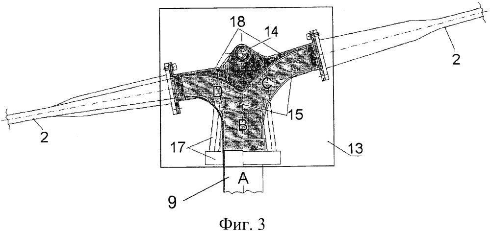 Система управления лопастями вертолета с помощью сжатого воздуха