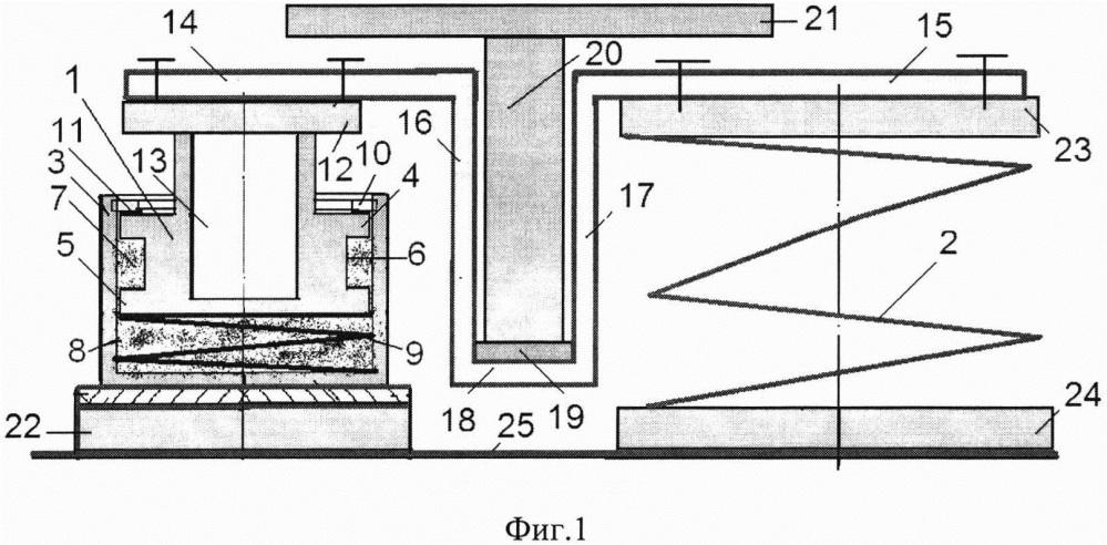 Виброизолятор корабельный с параллельно соединенными упругодемпфирующими элементами