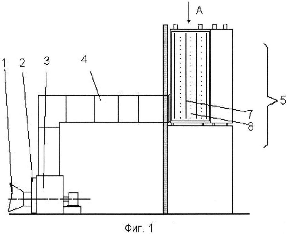 Устройство подготовки воздуха для газотурбинной установки