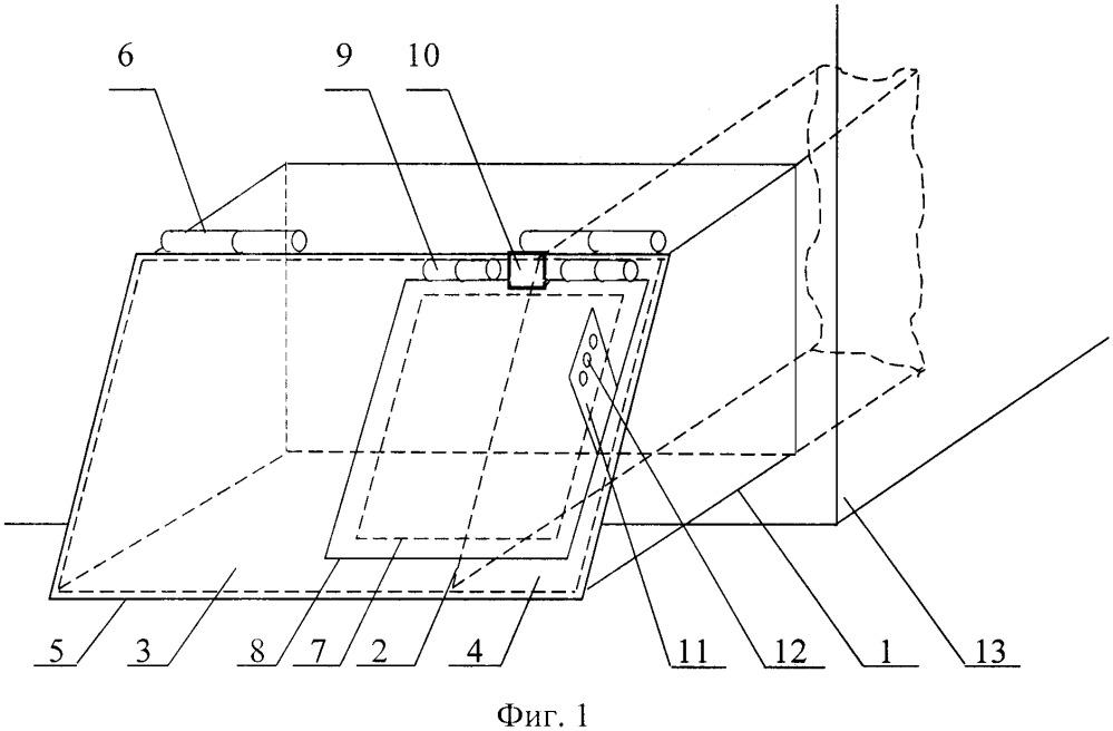 Устройство управления тепловой мощностью твёрдотопливного отопительного прибора