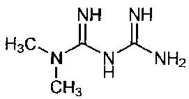 Комбинированная композиция, содержащая метформин замедленного высвобождения и ингибитор hmg-coa-редуктазы немедленного высвобождения