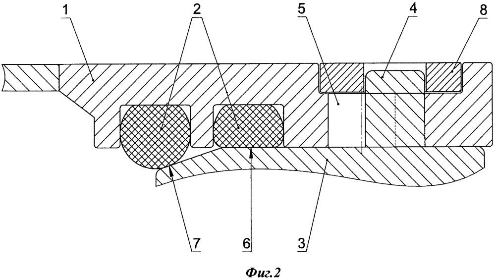 Узел крепления рукав-корпус космического скафандра для внекорабельной деятельности и способ монтажа рукава на скафандр